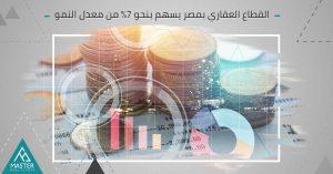 القطاع العقاري فى مصر يؤثر إيجابيا على معدل النمو بنسبة 7%